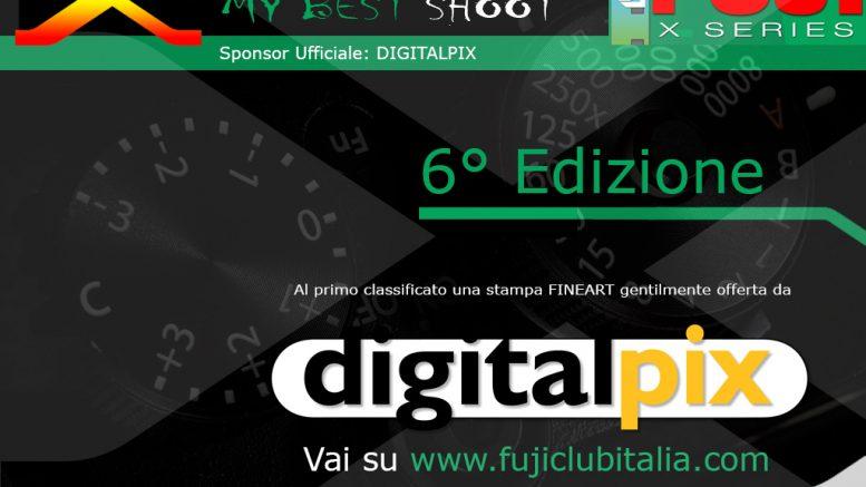 "Photo Contest a Premi ""My Best Shoot"" 6° Edizione SPONSOR DIGITALPIX"